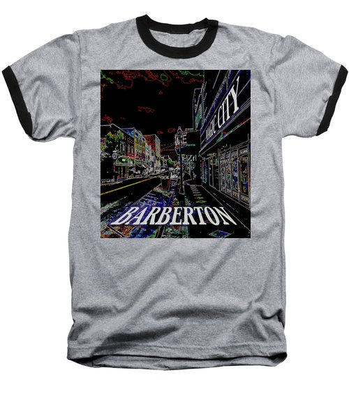 Barberton The Magic City Baseball T-Shirt
