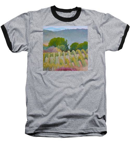 Barboursville Vineyards 1 Baseball T-Shirt by Catherine Twomey