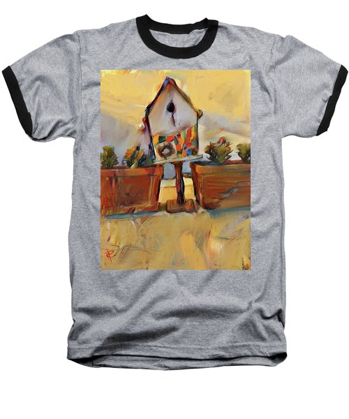 Barb's Bird House Baseball T-Shirt