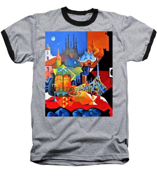 Barcelona Nights Baseball T-Shirt