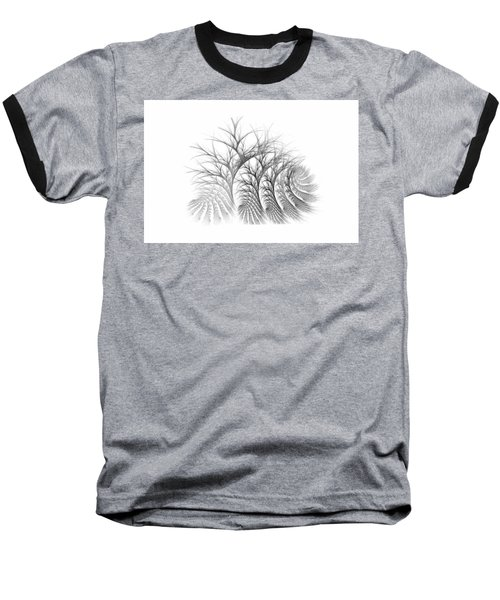 Bare Trees Daylight Baseball T-Shirt