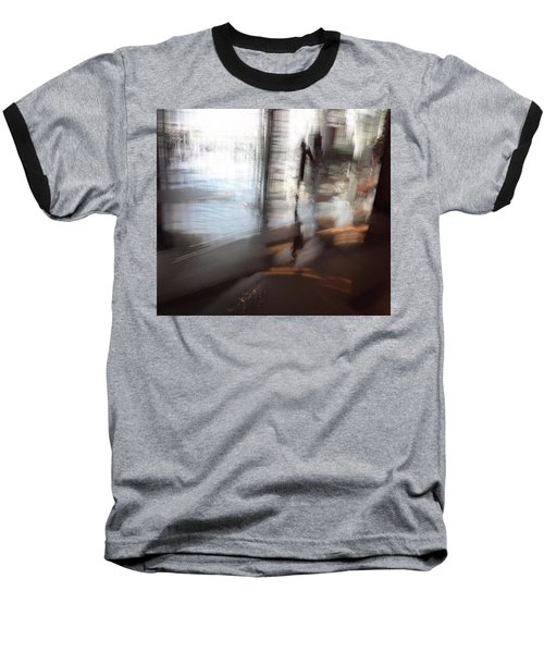 Baseball T-Shirt featuring the photograph Barely There by Alex Lapidus