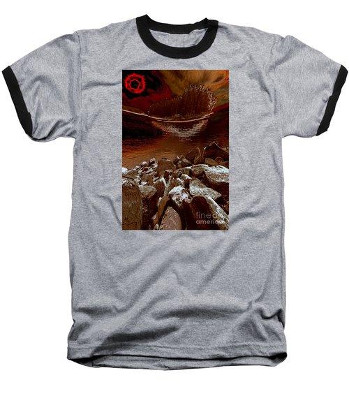 Bargain Bay 3 Series 2 Baseball T-Shirt by Elaine Hunter