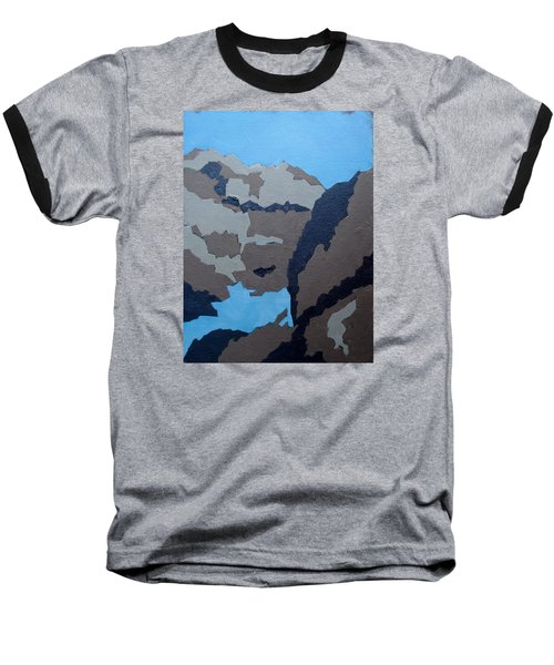 Barker Dam Abstract Baseball T-Shirt