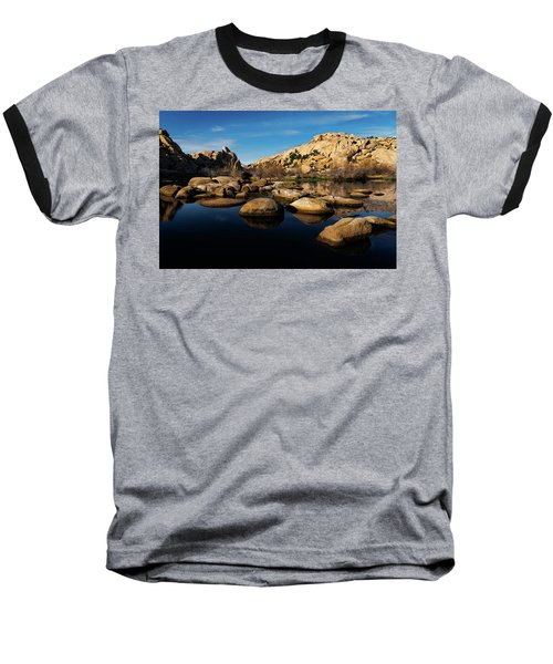 Barker Dam Lake Baseball T-Shirt