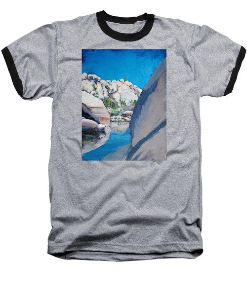Barker Dam Baseball T-Shirt by Richard Willson