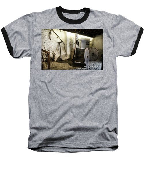 Baseball T-Shirt featuring the photograph Barley Warehouse At Lockes Distillery by RicardMN Photography