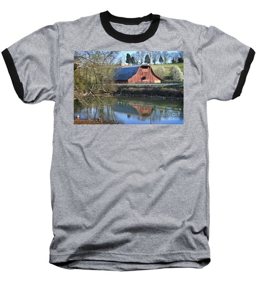 Barn And Reflections Baseball T-Shirt