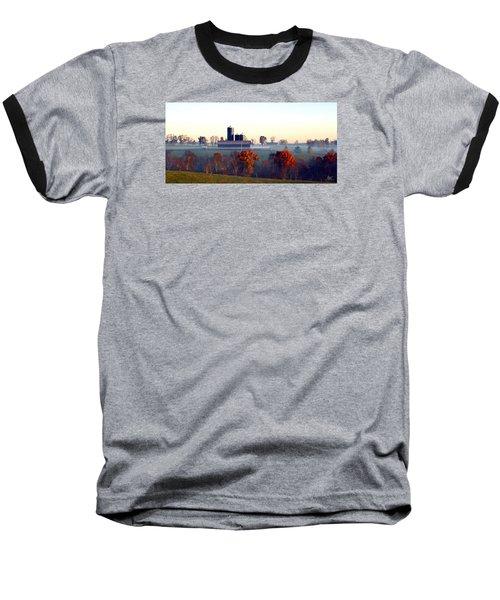 Barn And Silo 3 Baseball T-Shirt