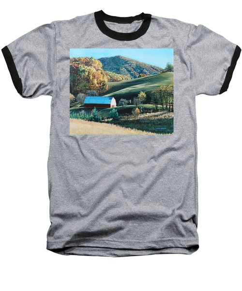 Barn At Blowing Rock Baseball T-Shirt