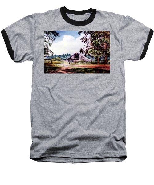 Barn At Honey Island Baseball T-Shirt