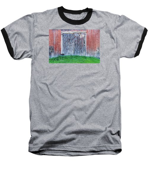 Barn Door Baseball T-Shirt by Tom Singleton