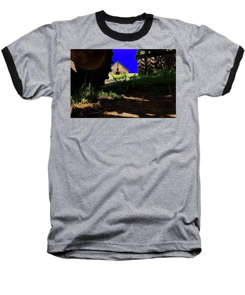 Barn From Under The Equipment Baseball T-Shirt