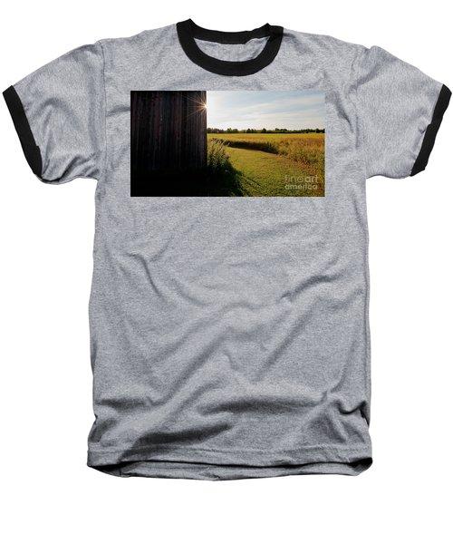 Barn Highlight Baseball T-Shirt