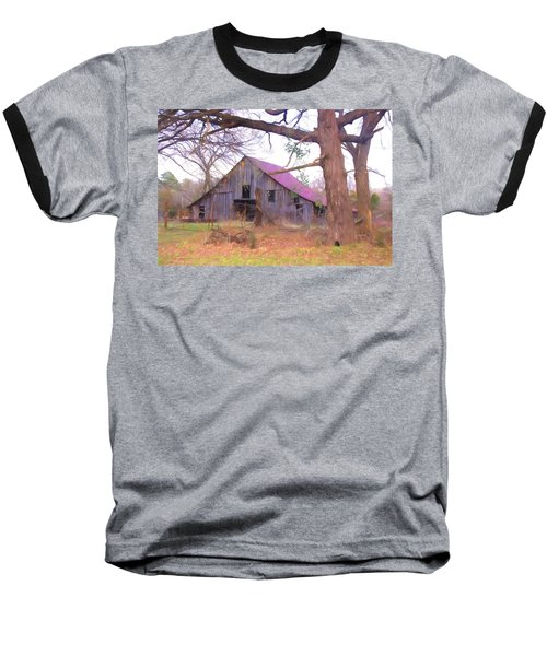 Barn In The Valley Baseball T-Shirt