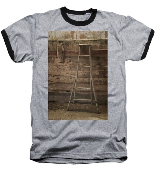 Barn Ladder Baseball T-Shirt