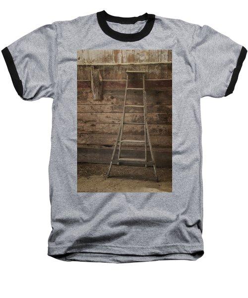 Barn Ladder Baseball T-Shirt