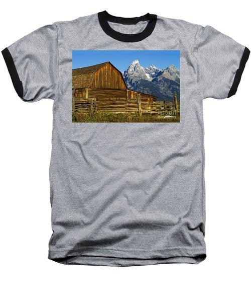 Barn On Mormon Row Baseball T-Shirt