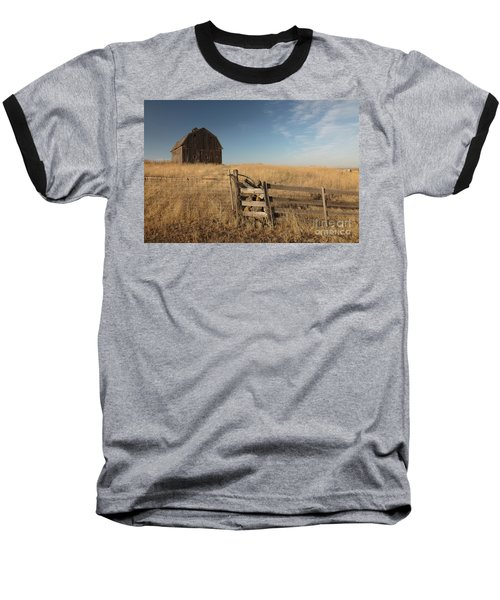 Barn On The Prairie Baseball T-Shirt