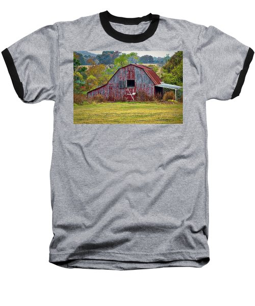 Barn On White Oak Road 2 Baseball T-Shirt