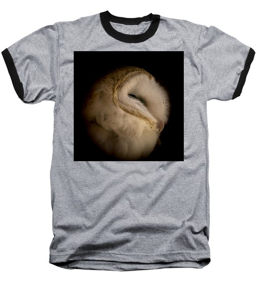 Barn Owl 6 Baseball T-Shirt