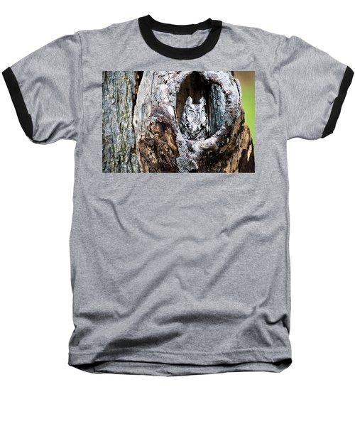 Screech Owl Baseball T-Shirt