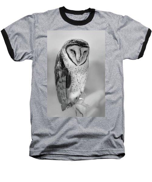Barn Owl II Baseball T-Shirt