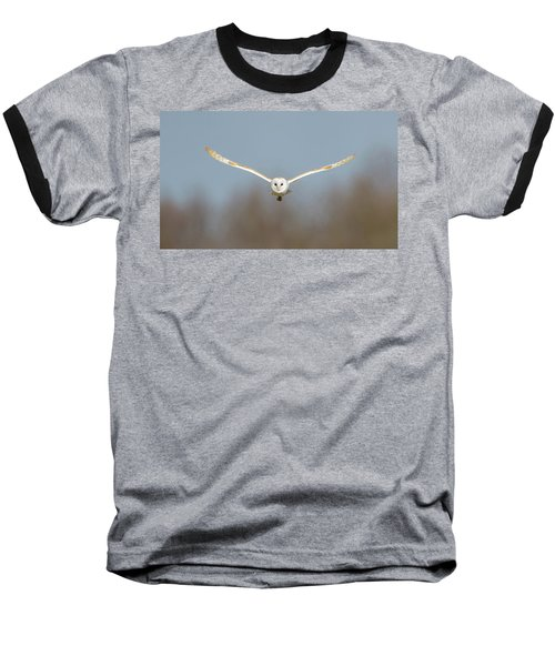 Barn Owl Sculthorpe Moor Baseball T-Shirt