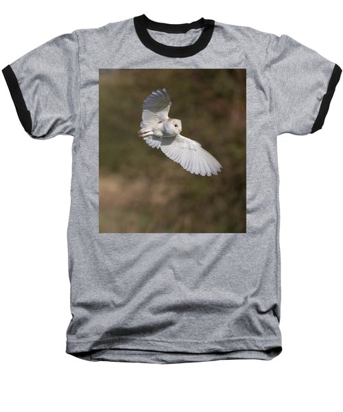 Barn Owl Wings Baseball T-Shirt