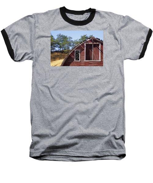 Barn Shadows Baseball T-Shirt