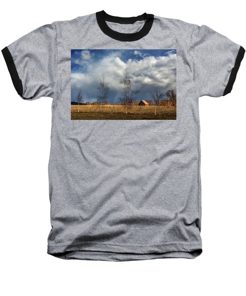 Baseball T-Shirt featuring the photograph Barn Storm by James Eddy