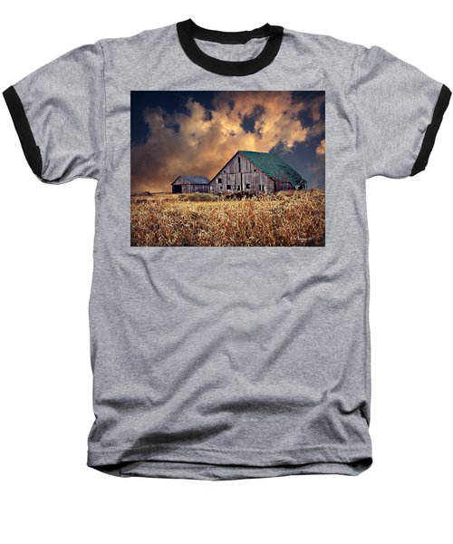 Barn Surrounded With Beauty Baseball T-Shirt