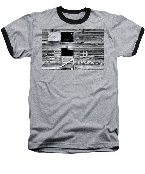 Barn Texture Baseball T-Shirt
