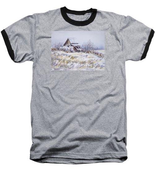 Barn Windmill Road Baseball T-Shirt