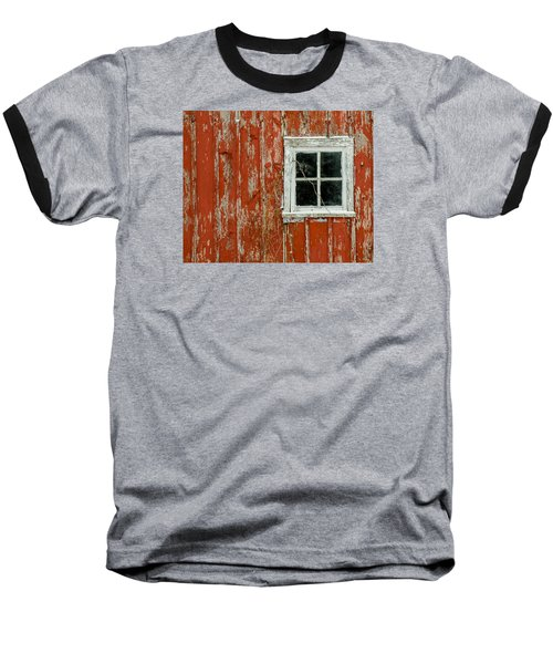 Barn Window Baseball T-Shirt