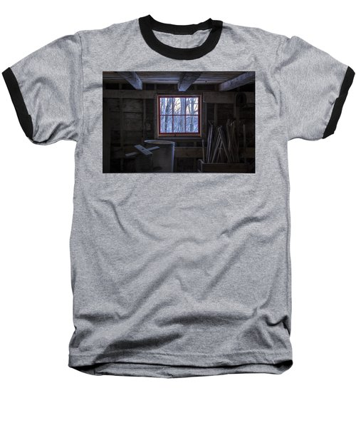 Barn Window II Baseball T-Shirt