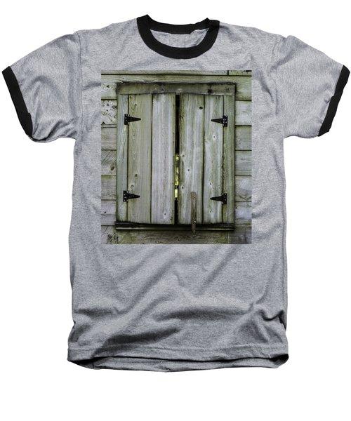 Barn Window, In Color Baseball T-Shirt
