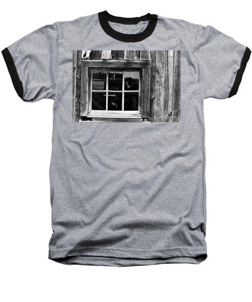 Barn Window Baseball T-Shirt