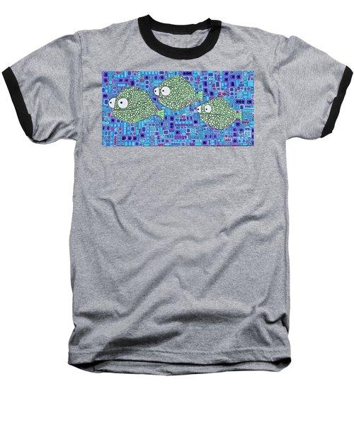 Barnacle Fish Baseball T-Shirt