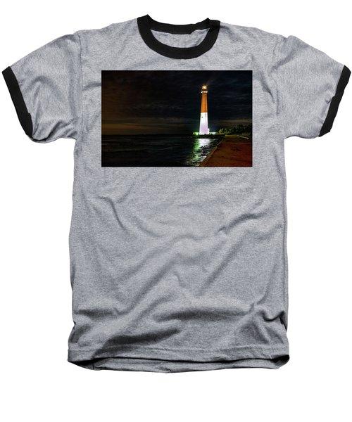 Barnegat Lighthouse Baseball T-Shirt