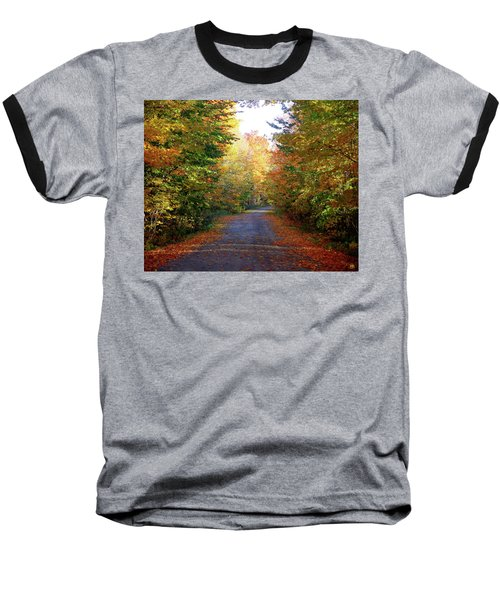 Barnes Road - Cropped Baseball T-Shirt