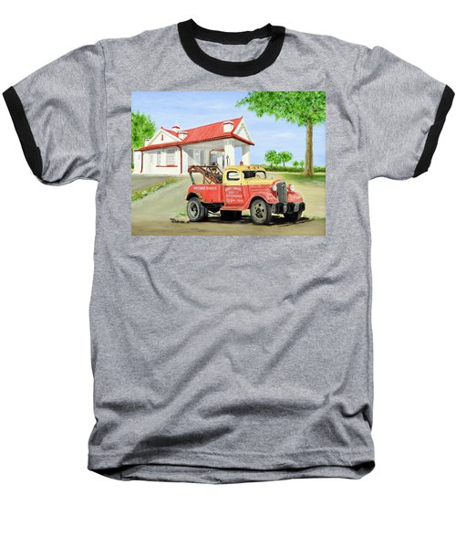 Barnett Garage Baseball T-Shirt