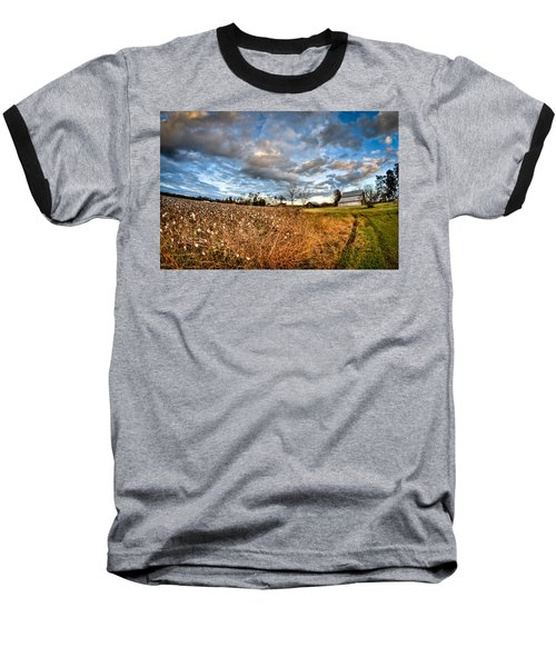 Barns And Cotton Baseball T-Shirt