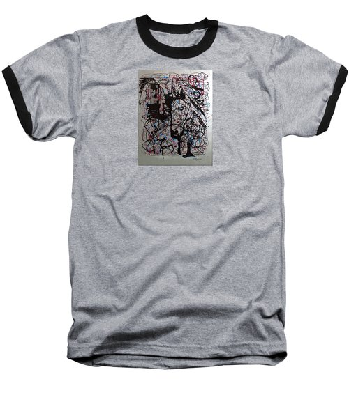 Barnyard Horse Baseball T-Shirt