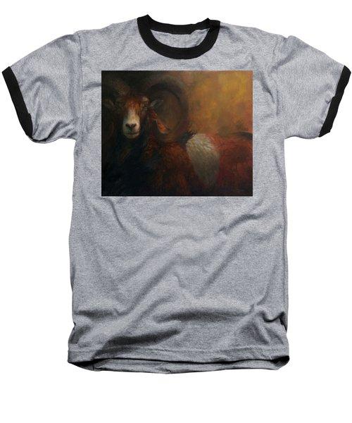 Baroque Mouflon Portrait Baseball T-Shirt