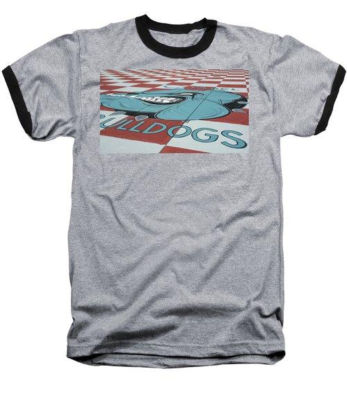 Barracks Bulldog Baseball T-Shirt