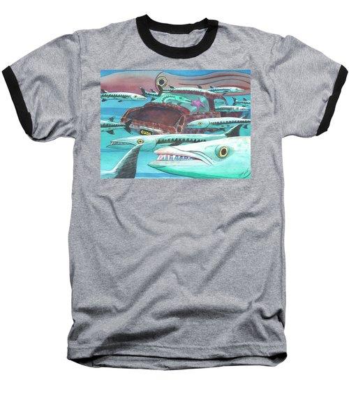 Barracuda Baseball T-Shirt