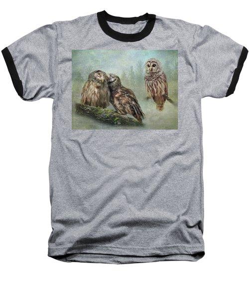 Barred Owls - Steal A Kiss Baseball T-Shirt