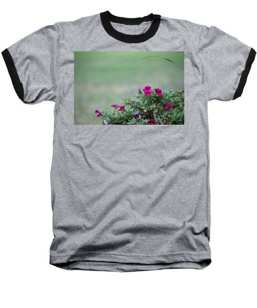 Barrel Of Flowers Baseball T-Shirt