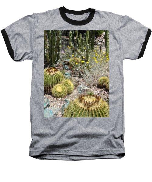 Barrels And Barrels Of Cactus Baseball T-Shirt